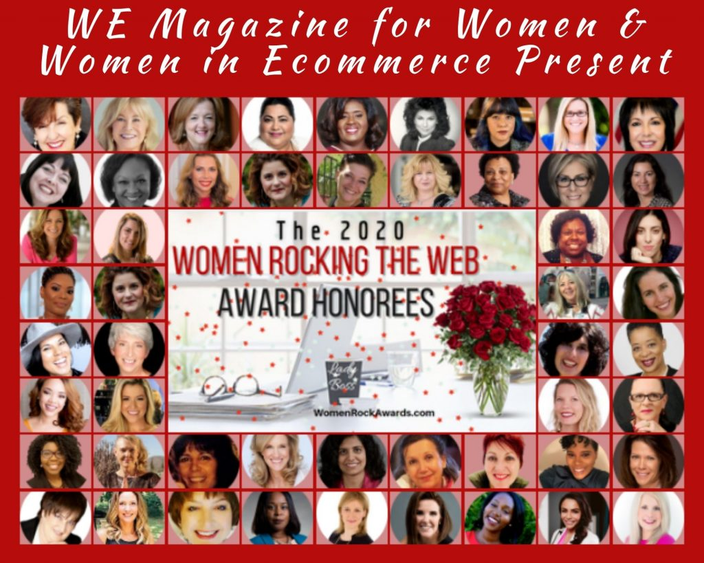 """""""Women Rocking The Web Honorees Collage"""""""